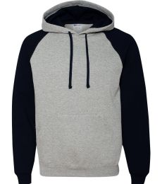 96CR JERZEES - Nublend® Colorblocked Hooded Pullover Sweatshirt