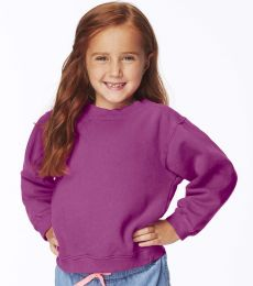 C9755 Comfort Colors Drop Ship Youth 10 oz. Garment-Dyed Crew Sweatshirt