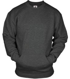 Badger Sportswear 1252 Pocket Crewneck Sweatshirt