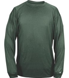 Badger Sportswear 4304 Pro Heather Long Sleeve T-Shirt