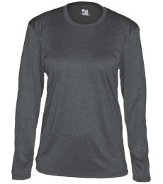 Badger Sportswear 4364 Pro Heather Women's Long Sleeve Tee