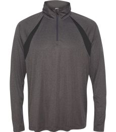 M3026 All Sport Men's Quarter-Zip Lightweight Pullover with Insets
