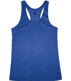 Badger Sportswear 4366 Pro Heather Women's Racerback Tank