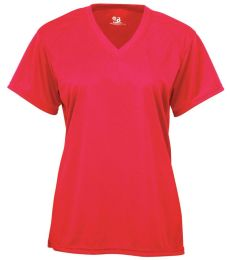 Badger Sportswear 2162 B-Core Girl's V-Neck T-Shirt