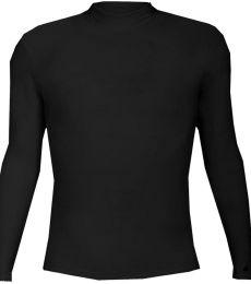 4756 Badger B-Hot Long Sleeve Mock Neck Blended Compression Tee