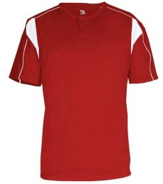 2937 Badger Youth Pro Placket Henley Tee