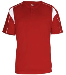 7937 Badger Adult Pro Placket Henley Tee