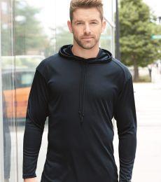 Badger Sportswear 4105 B-Core Long Sleeve Hooded T-Shirt