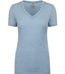 Next Level 6044 Ladies Poly/Cotton V