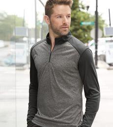 Badger Sportswear 4394 Pro Heather Quarter-Zip Pullover