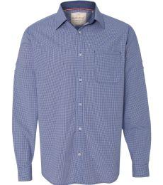 Weatherproof 154670 Vintage Mini Check Long Sleeve Shirt