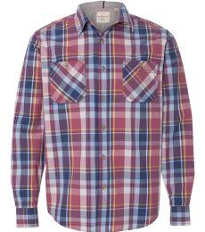 Weatherproof 154645 Vintage Plaid Long Sleeve Shirt