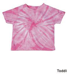 Dyenomite 20TCY Cyclone Tie Dye Toddler T-Shirt