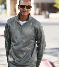 J America 8669 Volt Polyester Quarter-Zip Sweatshirt