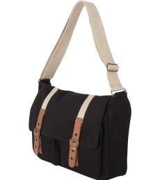 C385 Carolina Sewn Strapping Messenger Bag