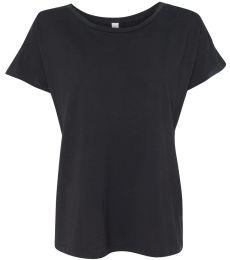 Alternative Apparel 4134 Womens Rocker Fashion T-Shirt