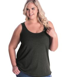 LAT 3821 Curvy Collection Women's Tank