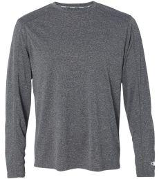 Champion CV26 Vapor Performance Heather Long Sleeve T-Shirt