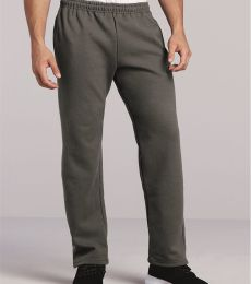 G123 Gildan 9.3 oz. Ultra Blend® 50/50 Open-Bottom Sweatpants