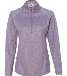 Bayside 3660 Women's Agate Melange Pullover