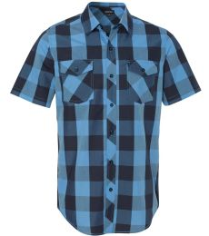 Burnside 9203 Buffalo Plaid Short Sleeve Shirt