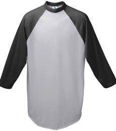 Augusta Sportswear 4421 Youth Three-Quarter Sleeve Baseball Jersey