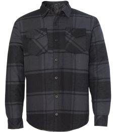 Burnside 8610 Quilted Flannel Jacket