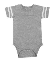 Rabbit Skins 4437 Infant Football Onesie