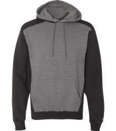 Champion S750 Double Dry Eco Colorblocked Hooded Sweatshirt