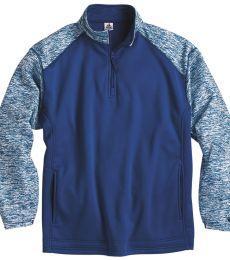 Badger Sportswear 1487 Blend Sport Performance Fleece Quarter-Zip Pullover