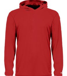 Badger Sportswear 2105 B-Core Long Sleeve Youth Hood Tee