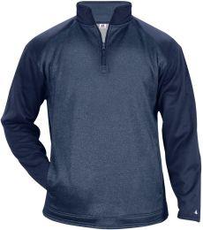 Badger Sportswear 1485 Sport Heather Tonal 1/4 Zip