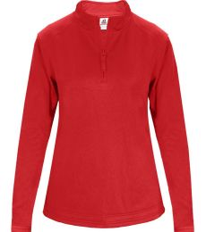 Badger Sportswear 1486 Women's 1/4 Zip Poly Fleece Pullover