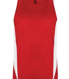 Badger Sportswear 2667 Stride Youth Singlet
