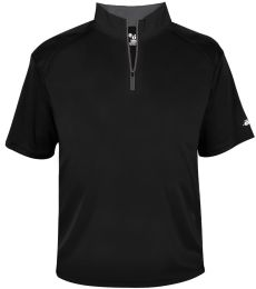 Badger Sportswear 4199 B-Core Short Sleeve 1/4 Zip Tee