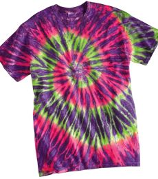 Dyenomite 20BRP Youth Ripple Tie Dye T-Shirt