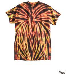 Dyenomite 20BSP Youth Spider Tie Dye T-Shirt