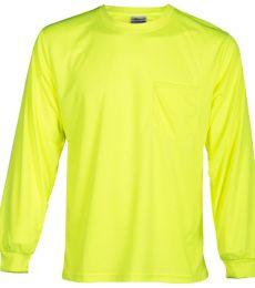 ML Kishigo 9122-9123 Microfiber Polyester Long Sleeve T-Shirt