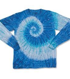 Dyenomite 240RP Ripple Tie Dye Long Sleeve