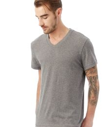 Alternative 4532 Perfect Organic Pima V-Neck T-Shirt