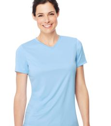 52 483V Cool DRI® Women's Performance V-Neck Tee