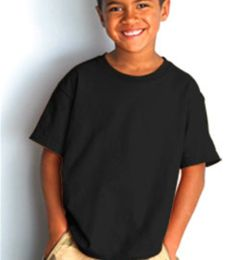 B4100 Bayside Youth Short-Sleeve Cotton Tee