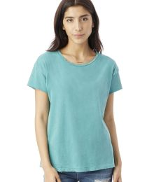 Alternative Apparel 04861C1 Ladies Distressed T-Shirt