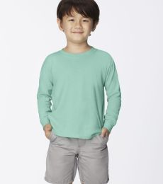 C3483 Comfort Colors Drop Ship Youth 5.4 oz. Garment-Dyed Long-Sleeve T-Shirt