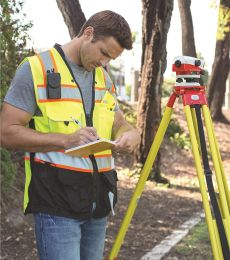ML Kishigo S5002-5003 Premium Black Series® Surveyors Vest