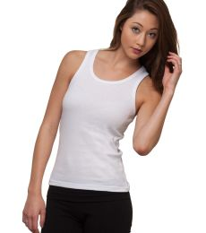 301 4569 Women's 2x1 Ribbed Tank Top