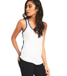 1534 Next Level Ladies Ideal Colorblock Racerback Tank
