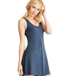 Next Level Apparel 6734 Women's Tri-Blend Racerback Tank Dress