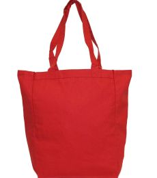 9861 UltraClub® Organic Recycled Cotton Canvas Tote