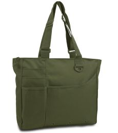 8811 UltraClub® Recycled Polyester Super Feature Tote